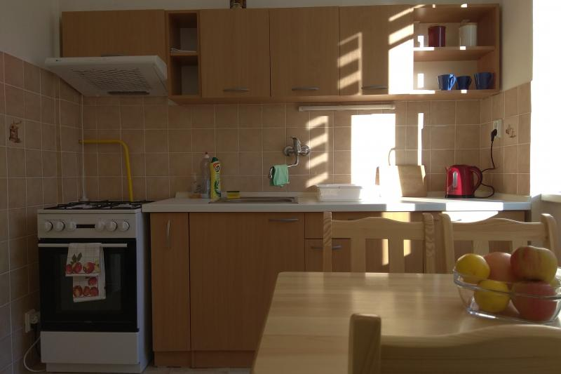 I offer for rent a furnished 1 bedroom flat , 42m2